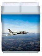 Vulcan In Flight 2 Duvet Cover