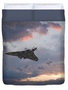 Vulcan Sunset Duvet Cover