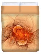 Vulcans Fire Duvet Cover