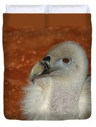 Vulture Portrait Duvet Cover