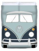 Vw Bus Blue Duvet Cover