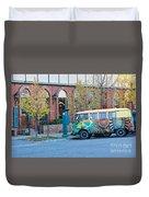 V W Bus Duvet Cover