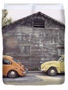 Vw's In Skagway Alaska Duvet Cover by Bruce Stanfield