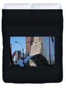 W T C Path Station Duvet Cover