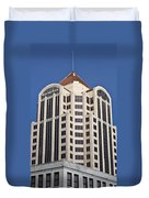 Wachovia Tower Roanoke Virginia Duvet Cover
