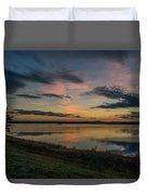 Wachusett Reservoir  Duvet Cover