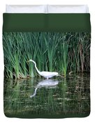 Wading And Waiting Duvet Cover