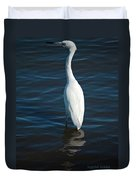 Wading Reflections Duvet Cover