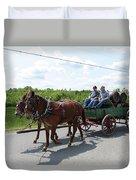 Wagon 12 Duvet Cover