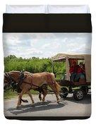 Wagon 7 Duvet Cover