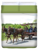 Wagon 8 Duvet Cover