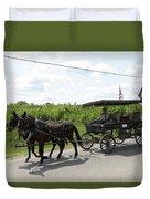 Wagon 9 Duvet Cover