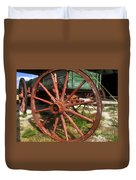 Wagon And Wheel Duvet Cover