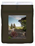 Wagon Wheel County Clare Ireland Duvet Cover