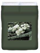 Wagon Wheel Mushroom Colony Duvet Cover