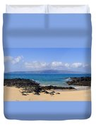 Wai Beach Duvet Cover