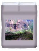 Waiamea Canyon Walls Duvet Cover