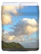 Waianae Coast Hawaii  Duvet Cover