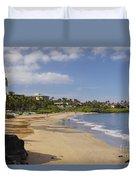 Wailea Beach Duvet Cover