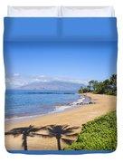 Wailea, Ulua Beach Duvet Cover