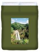 Wailua Falls Duvet Cover