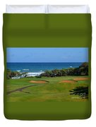 Wailua Golf Course - Hole 17 - 1 Duvet Cover