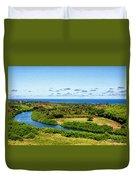 Wailua River Duvet Cover