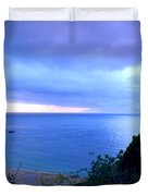 Waimea Bay Evening Duvet Cover