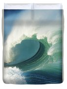 Waimea Bay Shorebreak Duvet Cover