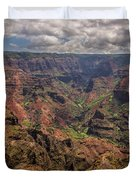 Waimea Canyon 7 - Kauai Hawaii Duvet Cover