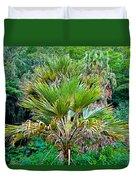 Waimea Palm Study 2 Duvet Cover