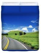 Waimea Ranch Land Duvet Cover by Bob Abraham - Printscapes