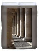 Waiting At St Peter's Duvet Cover by Julian Perry