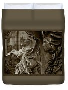 Waiting For Alexander - Heroes And Gods - Brown  Duvet Cover