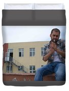 Waiting For Home II Duvet Cover