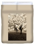 Waiting For Sunday - Holmdel Park Duvet Cover by Angie Tirado