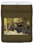 Waiting For The Challengers Duvet Cover by Sandra Bronstein