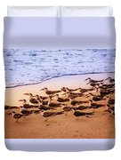 Waiting For The Wave Duvet Cover