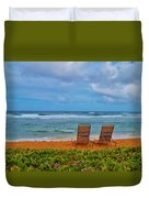 Waiting For You Duvet Cover