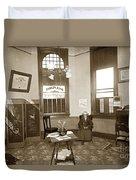 Waiting Room Of Dr. C. H. Pearce, D.d.s. Dentist, Watsonville,  Duvet Cover