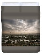 Waiting To Sail Duvet Cover