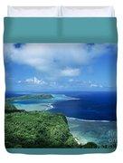 Wakaya Coastline Duvet Cover