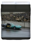 Wakefield Tire 63 Corvette Duvet Cover