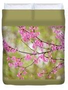 Waking Blooms Duvet Cover