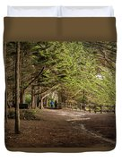 Walk Among The Trees Duvet Cover