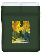Walk In The Forest Duvet Cover