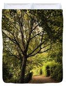 Walk In The Park Duvet Cover