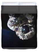 Walk Into Darkness  Duvet Cover