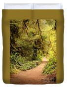 Walk Into The Forest Duvet Cover