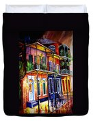 Walk Into The French Quarter Duvet Cover